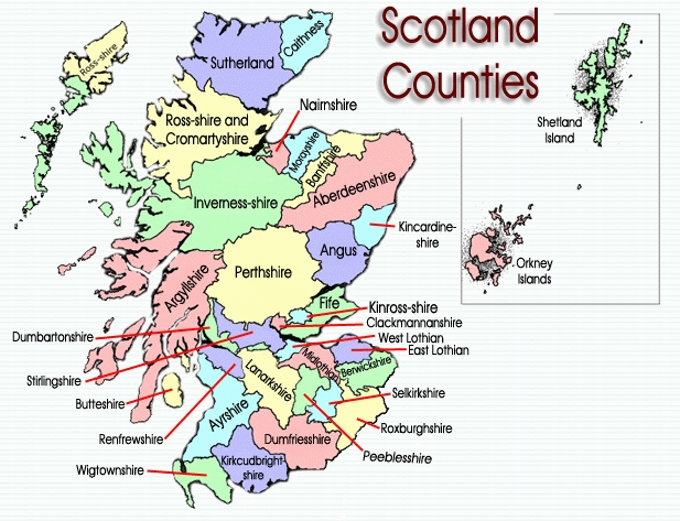 Scotland counties.